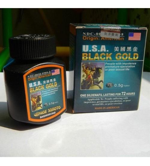 Cải thiện cương dương với thuốc Black Gold USA
