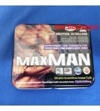Thuốc cường dương Maxman 24 viên 260mg tăng cường sinh lý