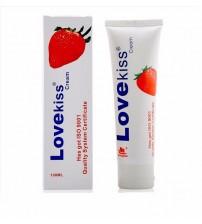 Gel bôi trơn Love Kiss hương dâu tăng khoái cảm