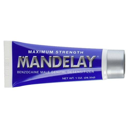 Kem (gel) bôi trơn Mandelay trị xuất tinh sớm hàng Mỹ